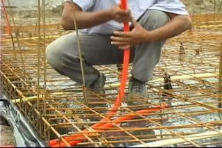 Instalaciones electricas residenciales - tubo conduit en losas de cimentacion 1