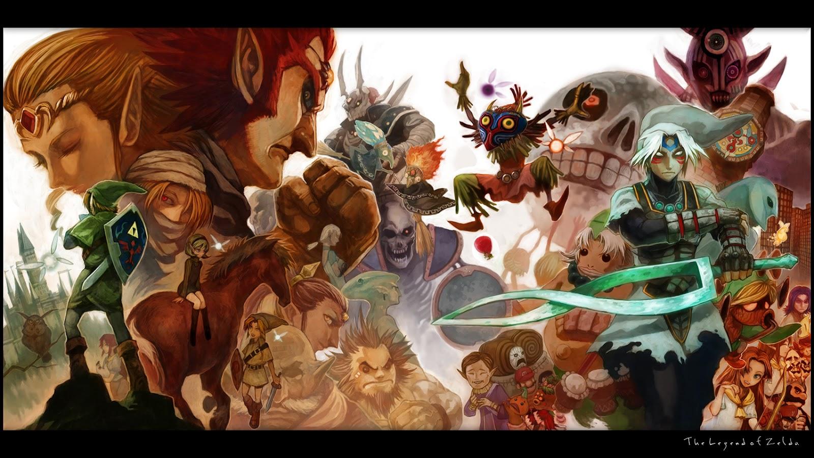 Video Game Gallery The Legend Of Zelda Majoras Mask Wallpaper