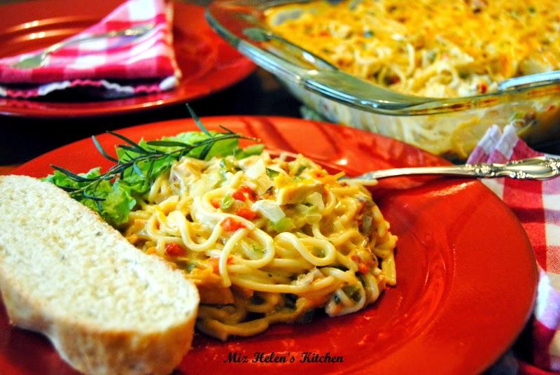 Chicken Spaghetti at Miz Helen's Country Cottage