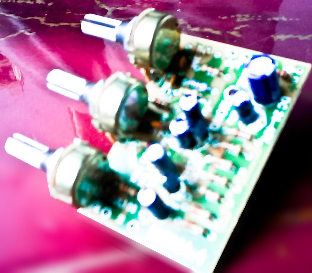 Tone Control Mono Circuit With C828 C945 Electronic