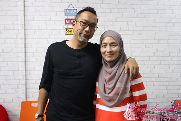 Tuan Wan Nong Muzafar dan isteri