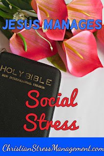 Jesus manages social stress