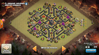base farming th 9 bomb tower