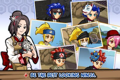 Downlaod Ninja Saga Apk Unlimited Gold Mod