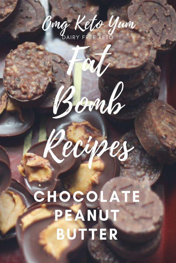 Keto Fat Bomb Recipes from Omg Keto Yum: Dairy and Sugar Free