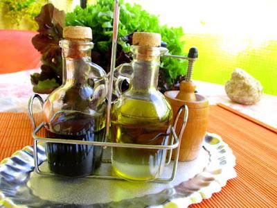 saláta olaj-ecet