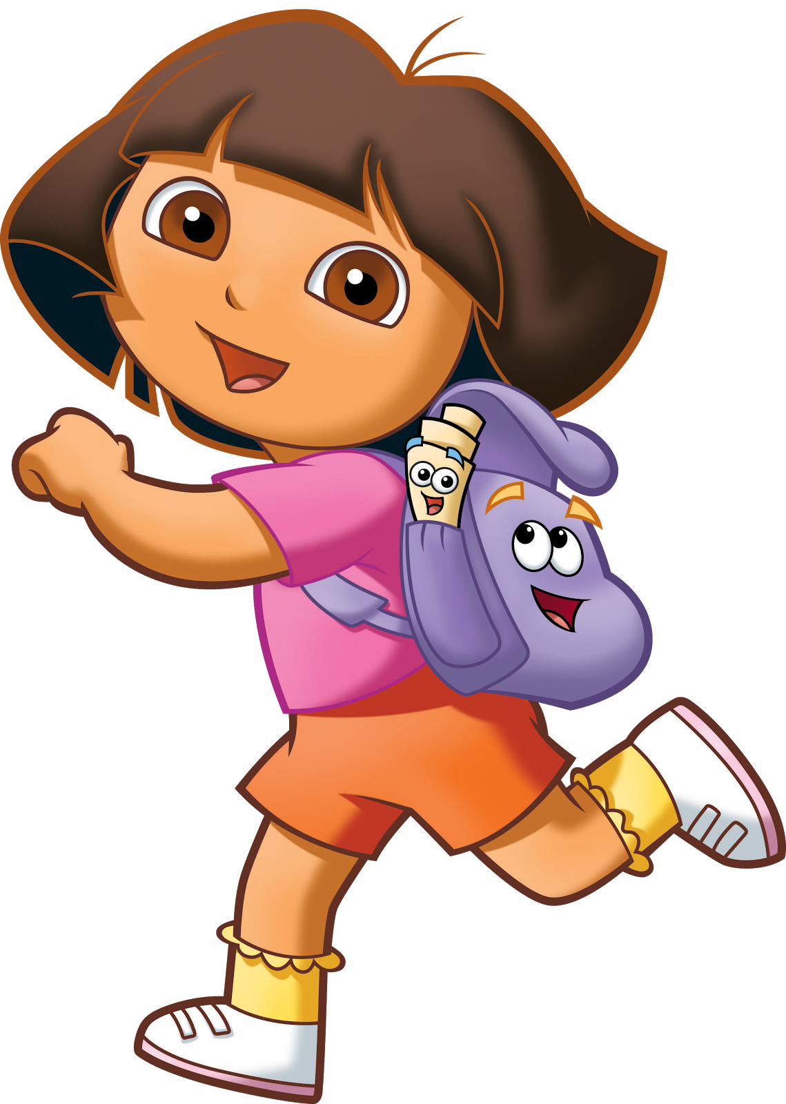 Cartoon Characters Dora The Explorer Png Pack