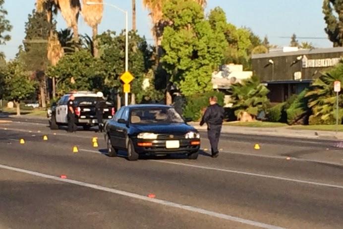 teen girl car crash pedestrian fresno shields avenue