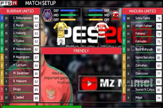 FTS 19 Full League Asia V2 Mod