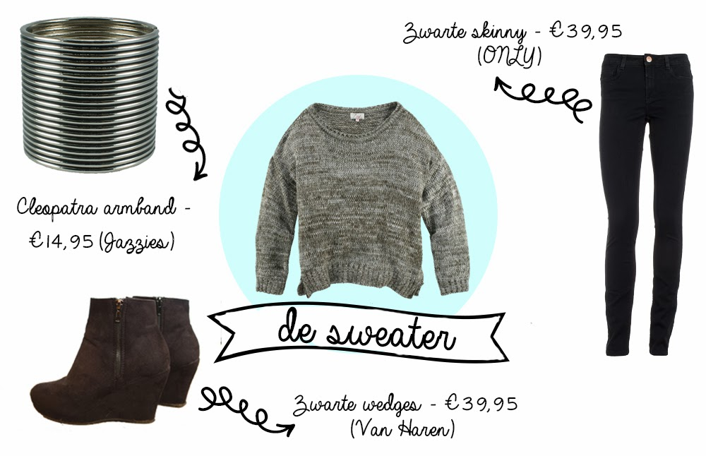 How to style | De oversized sweater The Budget Life | Blog