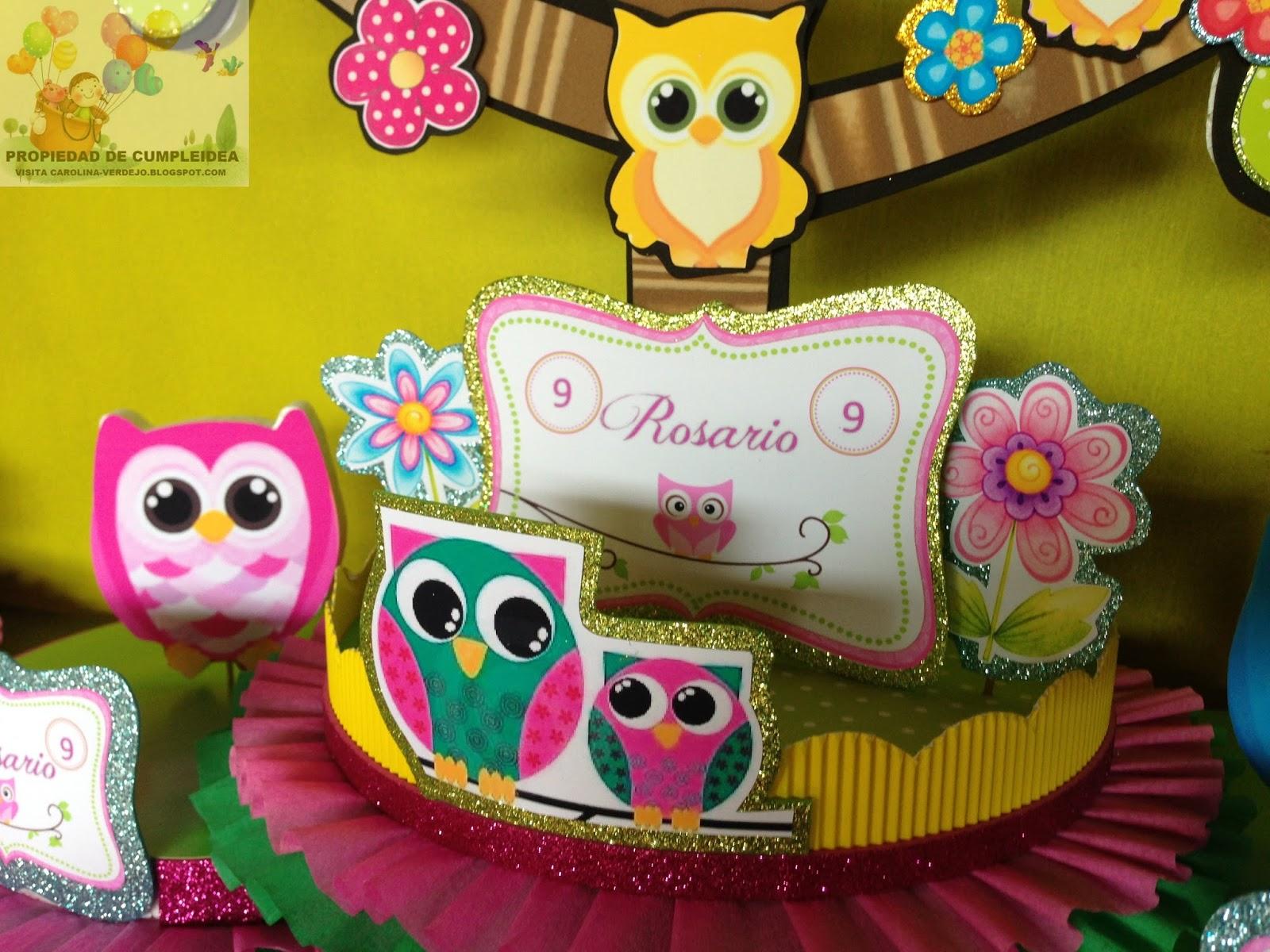 Decoraciones infantiles tematica de lechuzas for Decoraciones infantiles