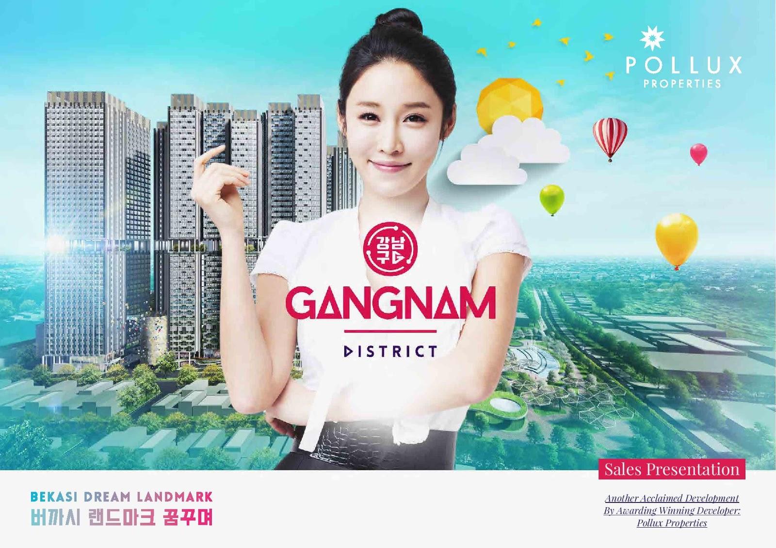 Gangnam District: Hunian Modern & Nyaman di Pusat Kota Bekasi