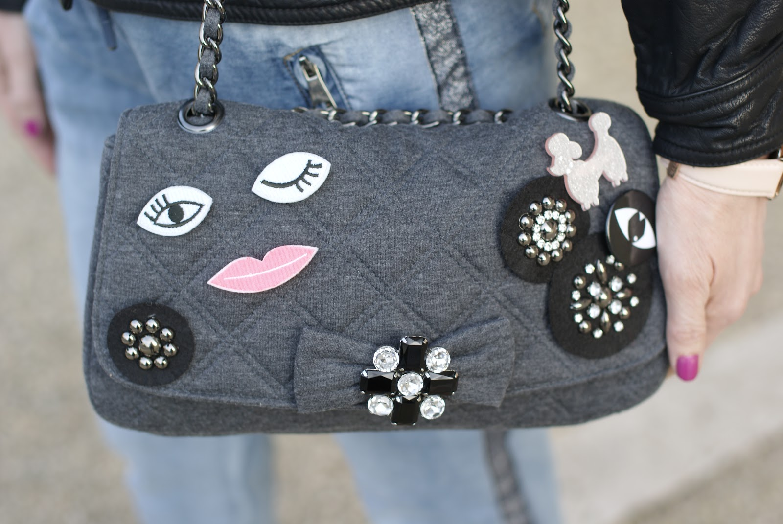 DIY bag on Fashion and Cookies fashion blog, fashion blogger style