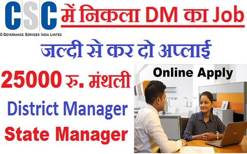 csc e governance services india limited recruitment 2019