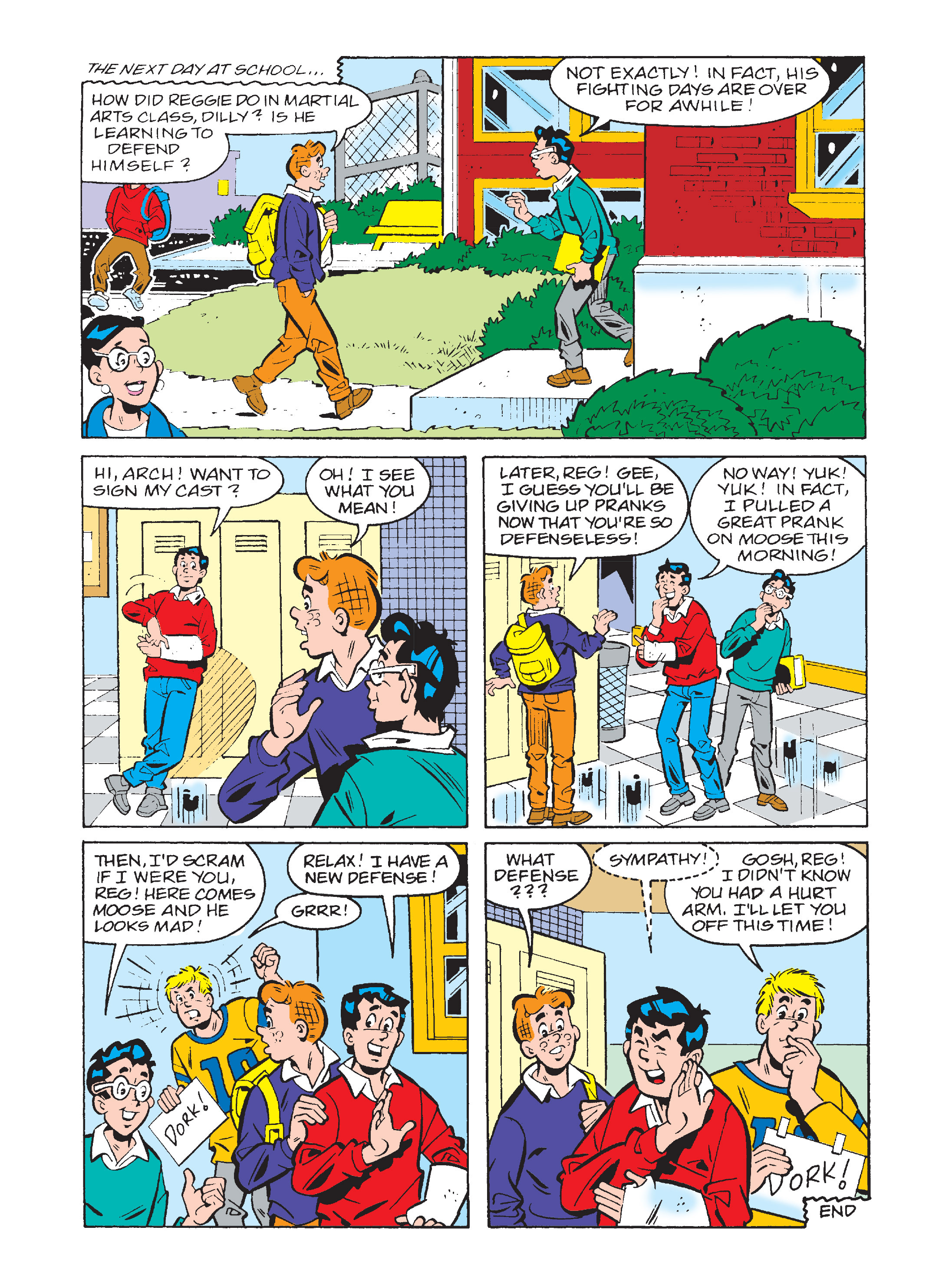 Read online Archie's Funhouse Double Digest comic -  Issue #2 - 94