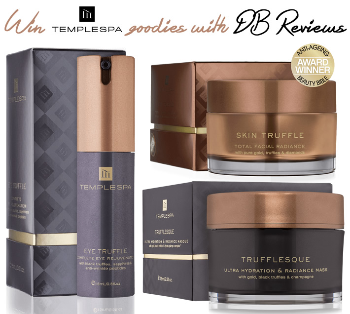 Win Temple Spa products with DB Reviews
