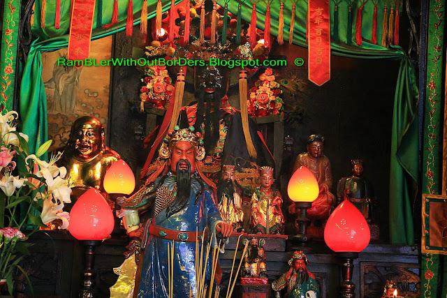 Guan Di, Guan Gong, Lord Guan, Tin Hau Temple, Yau Ma Tei, Kowloon, Hong Kong