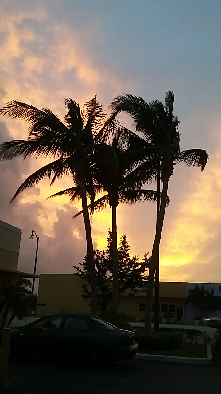 Beautiful sky in WPB