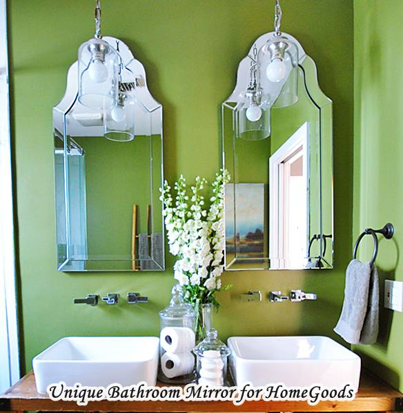 Home Goods Bathroom Mirror With Double Sink