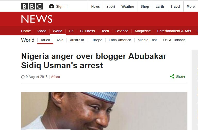 Blogger Abubakar Sidiq Usman speaks on EFCC arrest, detention