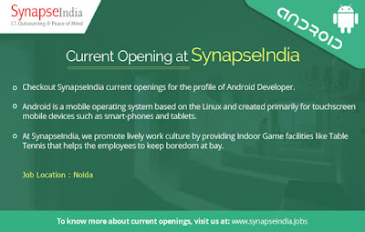 SynapseIndia Current Openings\