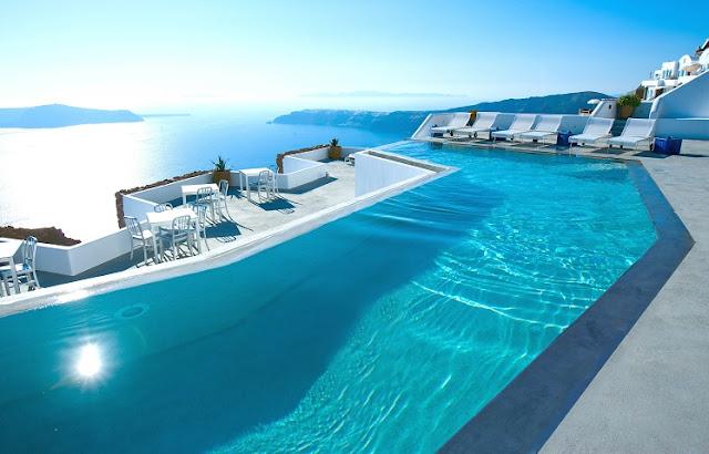 Hotel na Grécia