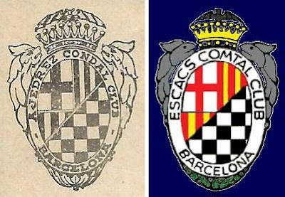 Emblemas del Ajedrez Comtal Club