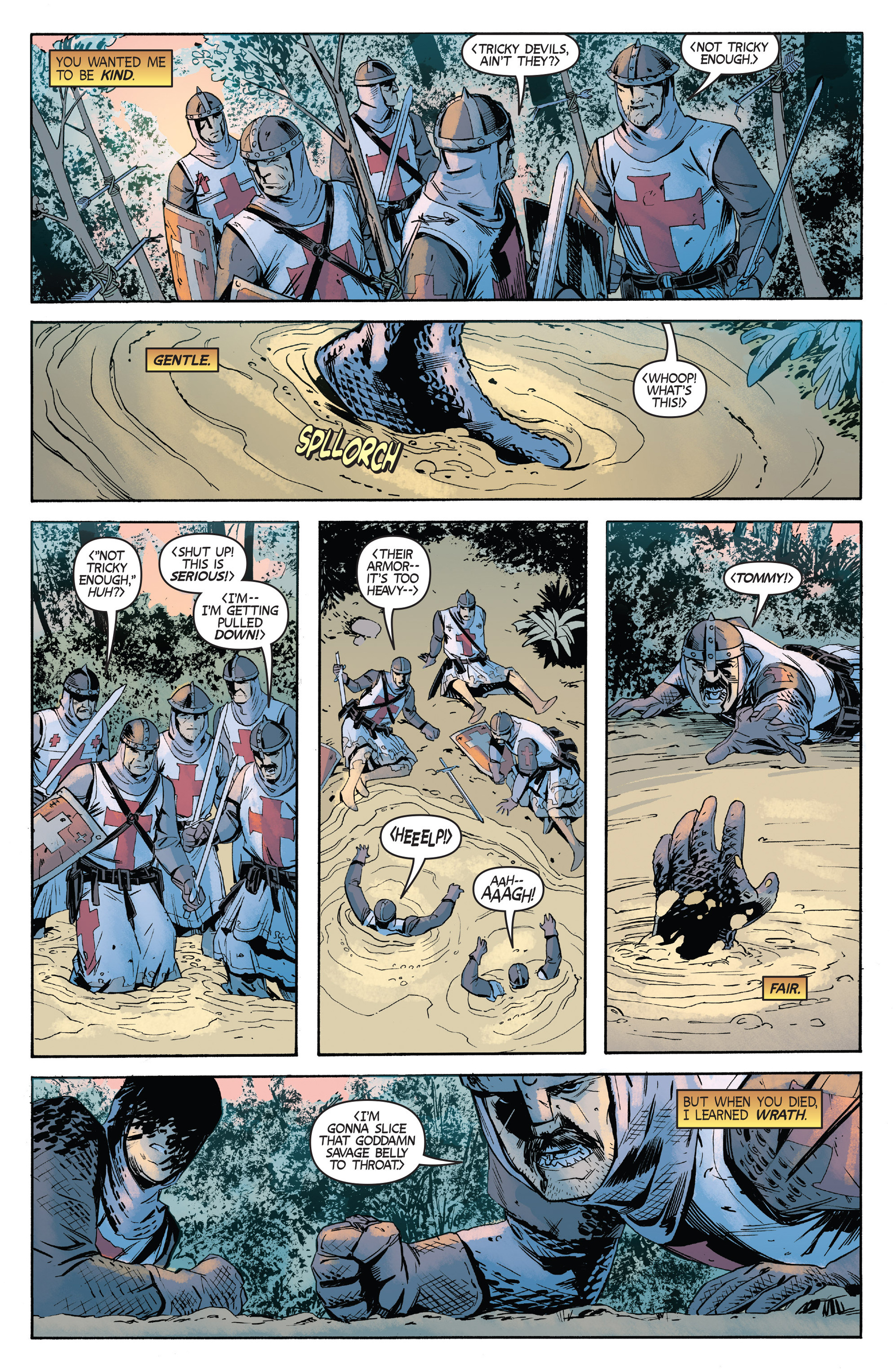 Read online Turok: Dinosaur Hunter (2014) comic -  Issue #2 - 19