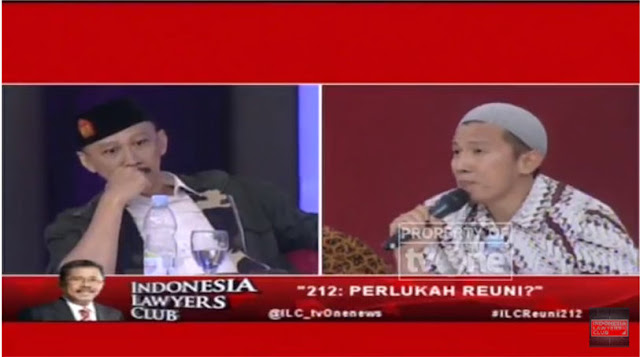Abu Janda Panik Saat Ustadz Felix Siauw Tunjukkan Kebohongannya di ILC, Ini Videonya