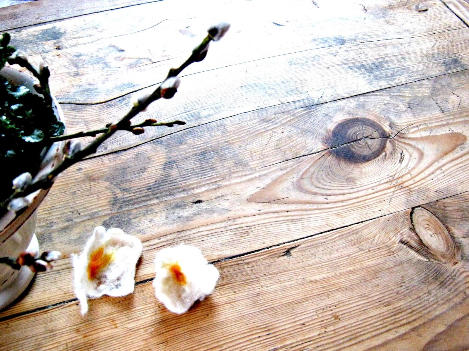 Filzblumen kinderleicht in 3 Schritten herstellen