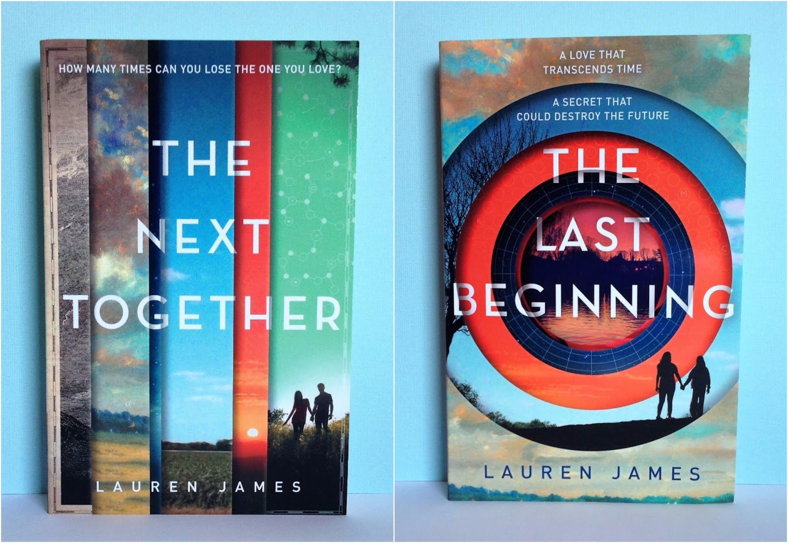 The Next Together duology (The Next Together & The Last Beginning) by  Lauren James