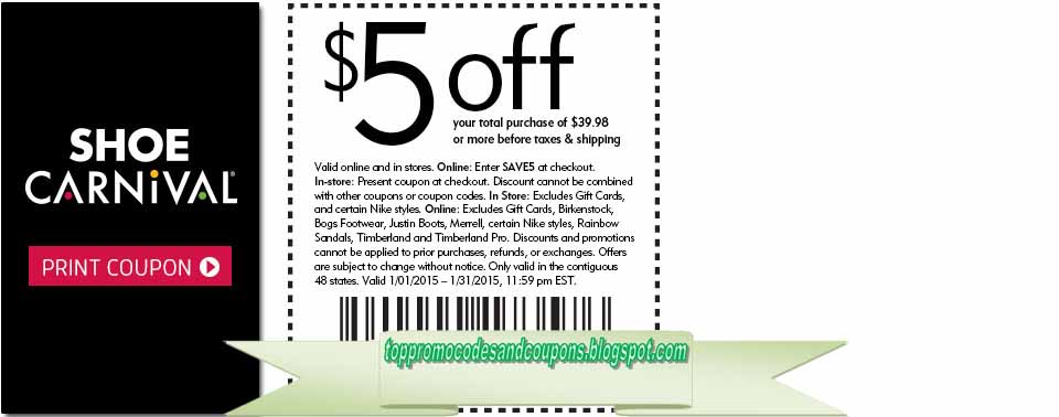 Alec S Shoe Store Coupons