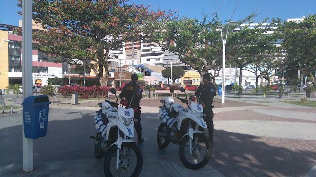 Guarda Municipal realiza patrulhamento preventivo no bairro