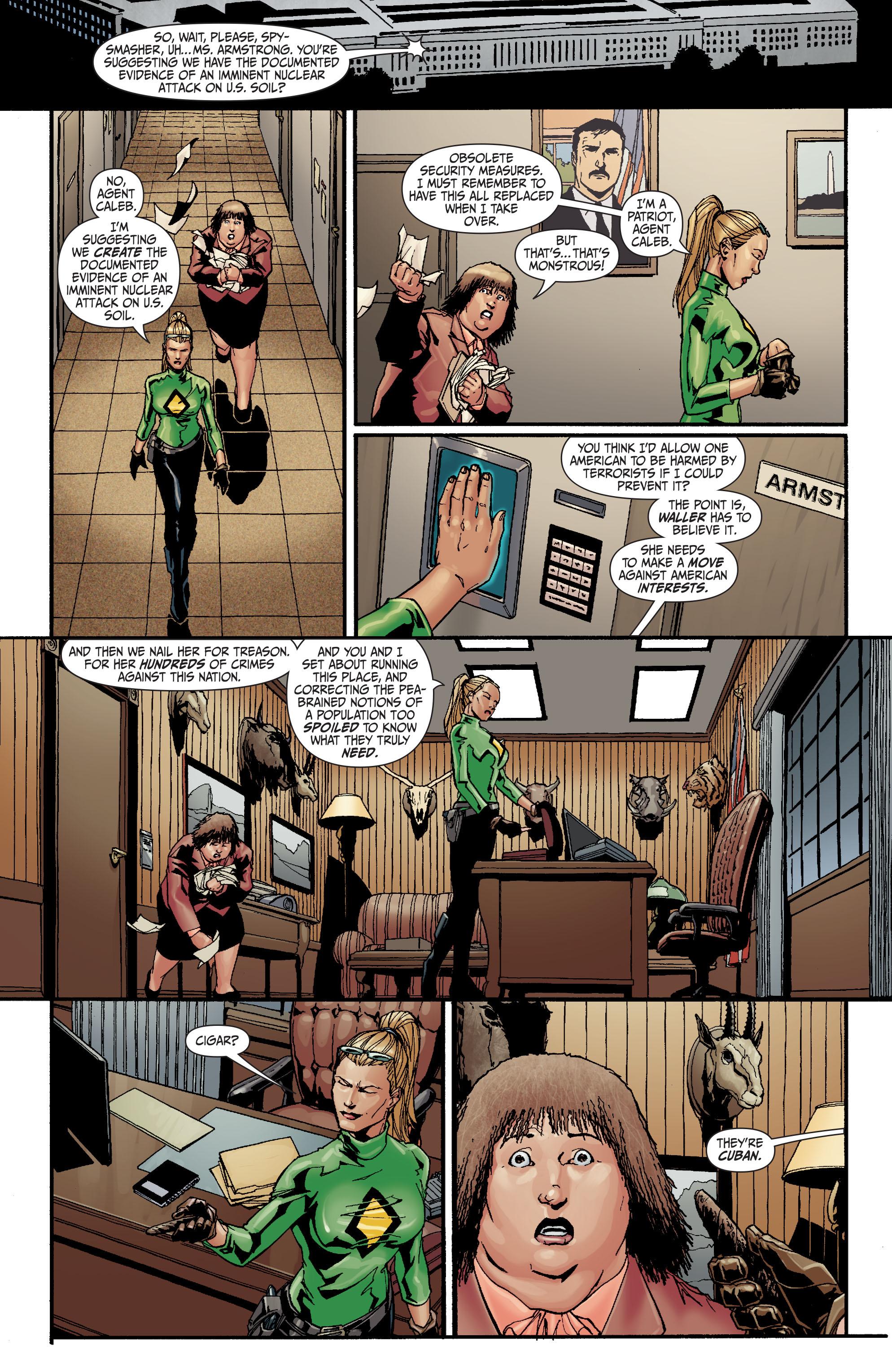 Read online Secret Six (2008) comic -  Issue #27 - 12