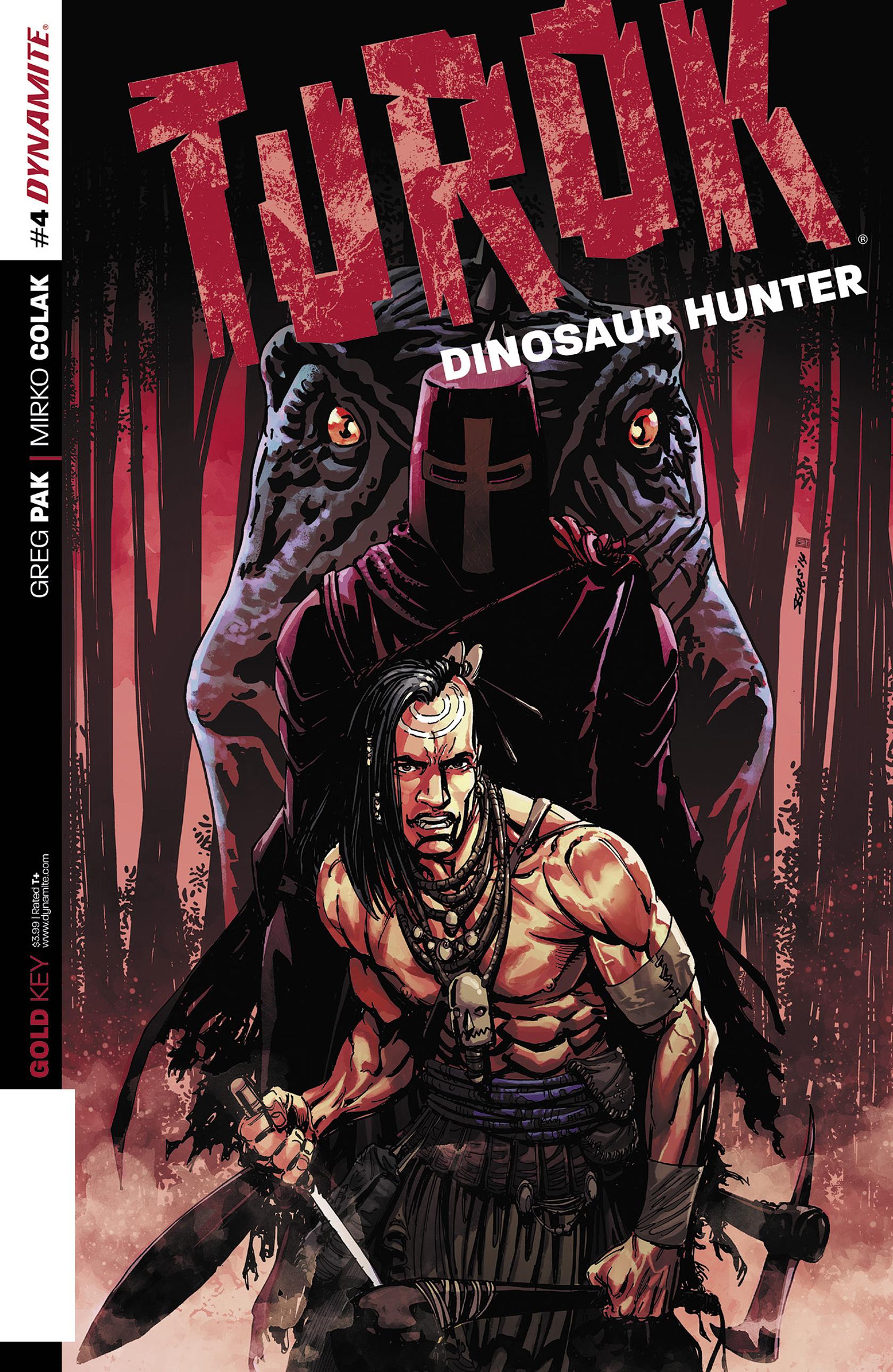 Read online Turok: Dinosaur Hunter (2014) comic -  Issue #4 - 1