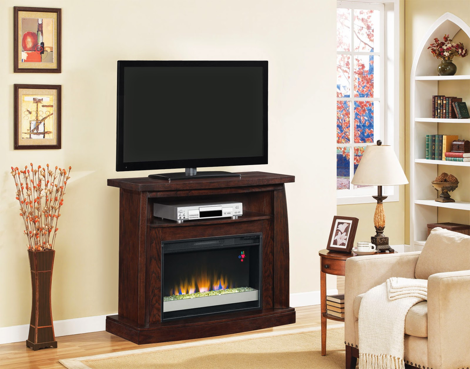Twinstar International Go Green With Electric Fireplaces