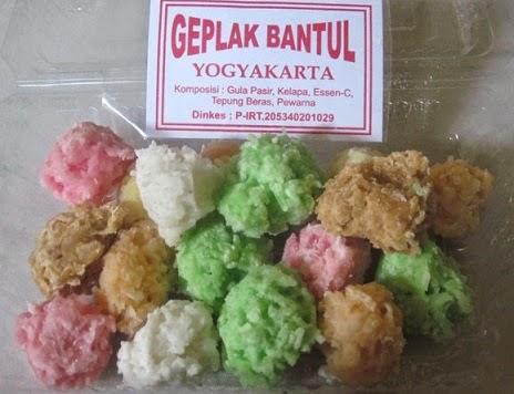 inilah geplak contoh oleh oleh makanan khas yogyakarta