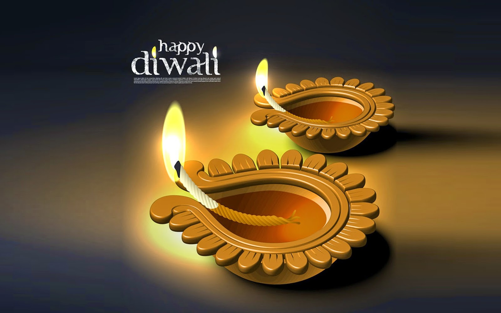 Happy Diwali 2014 Greeting and Wishes HD Wallpapers Free ...