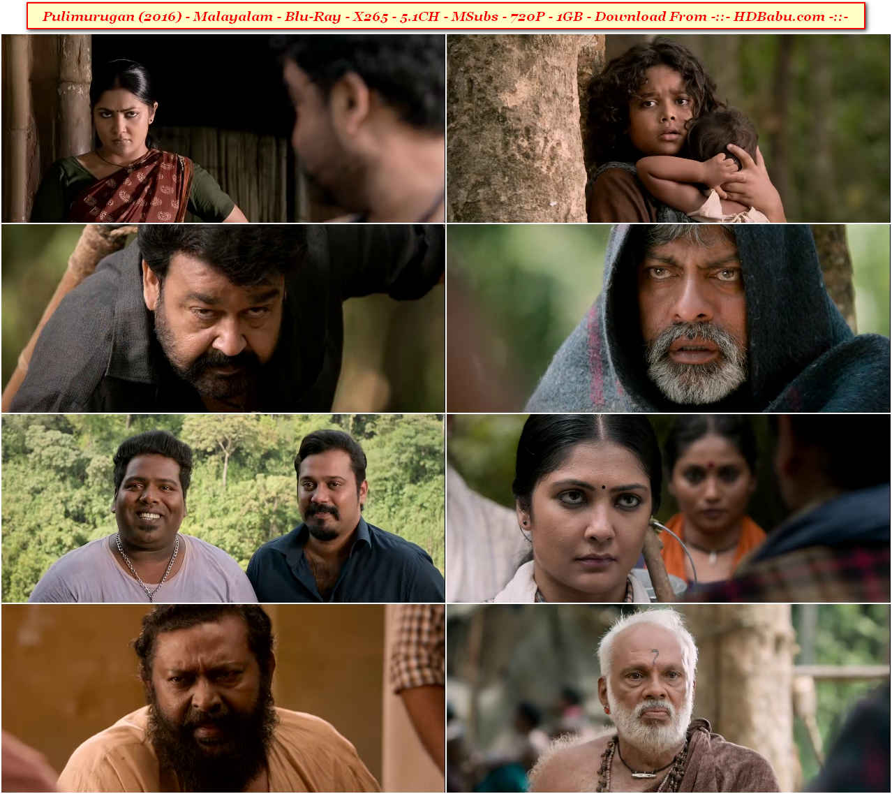 Pulimurugan Full Movie Download