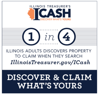 Discover lost property in Illinois via ICash