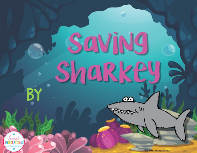 To share the results of research threats to sharks, Students can create a cartoon story with this editable PowerPoint.