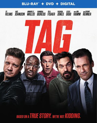 Tag 2018 Eng 720p BRRip 800Mb ESub x264
