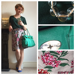 Boden floral print skirt, Mulberry Bayswater