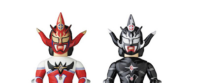 Jushin Thunder Liger Sofubi Fighting Series Vinyl Figures by Medicom Toy