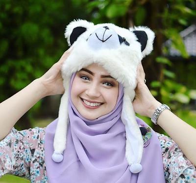 model topi casual untuk hijab