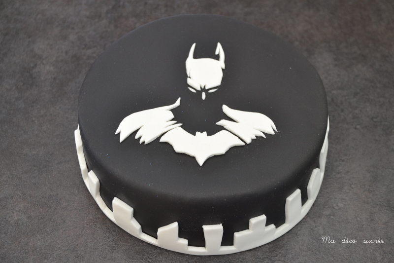 deco gateau batman