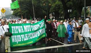 Ratusan Ribu Peserta Aksi 112 Berikrar Memilih Pemimpin Muslim