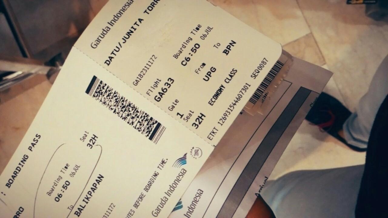 Junita Torro Datu April 2018 Tiket Jakarta Ke Jepang Pergi Pulang Dengan Garuda Indonesia Kenangan Pesawat Dari Bandara Upg Bpn 06 Juli 2015