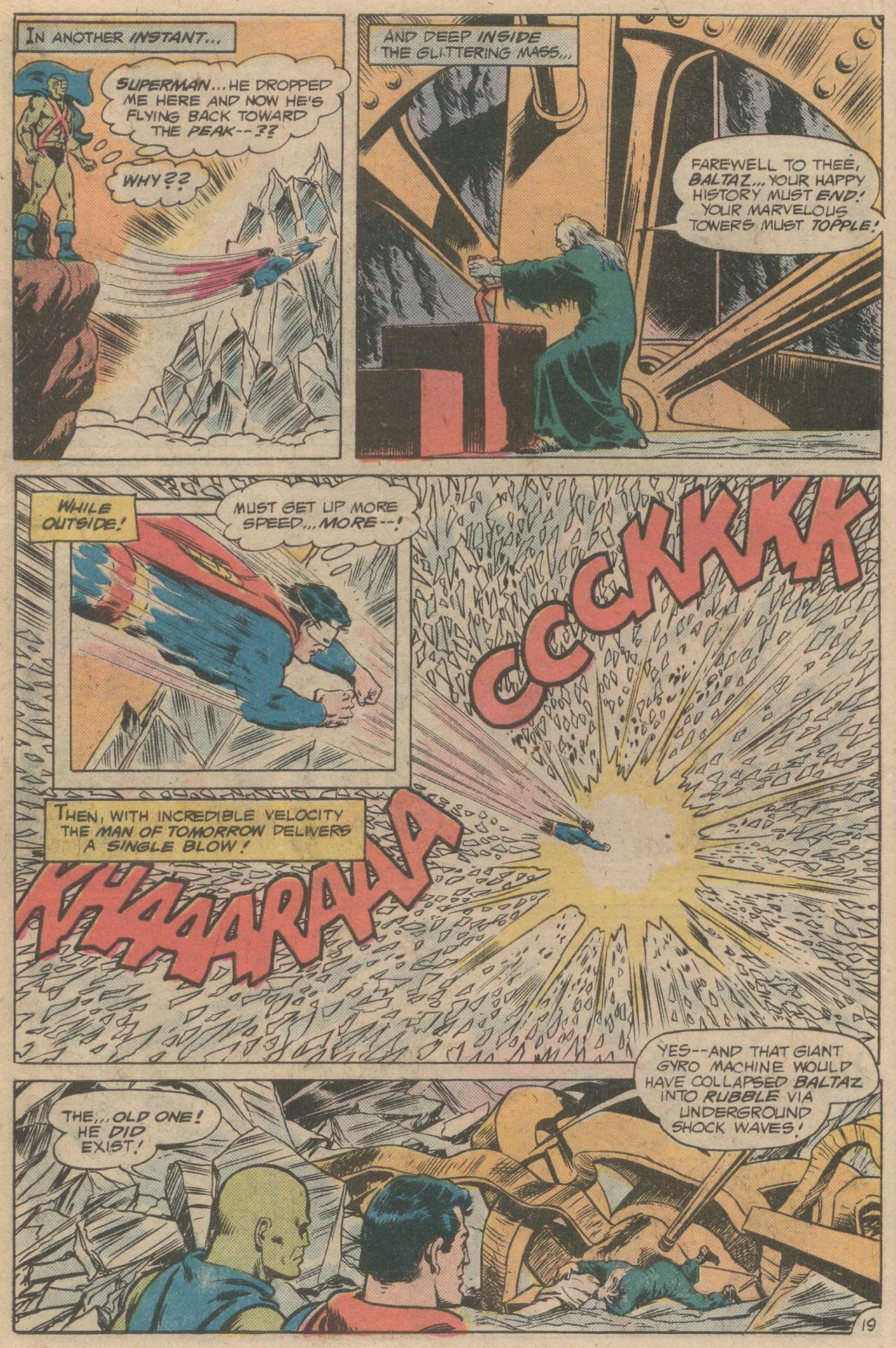 Read online World's Finest Comics comic -  Issue #245 - 21