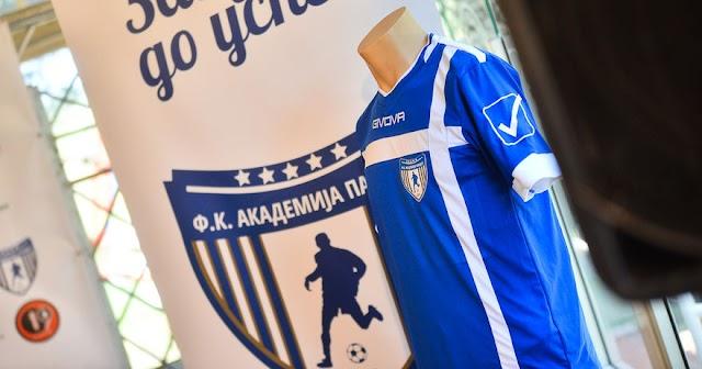 PMFL: Nach Erstliga Aufstieg präsentiert Akademija Pandev neues Logo und Trikots